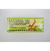 ACETOSAL 300MG   30 TAB