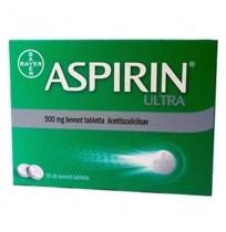 ASPIRIN TAB 500  20)