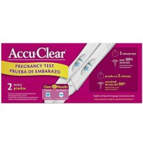 ACCU TEST-TWO PREGNANCY
