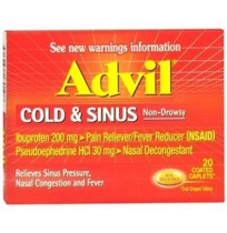 אדוויל קולד וסינוס advil cold&sinus